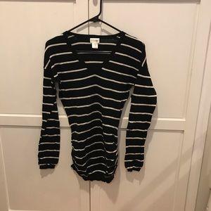 Motherhood Maternity size small striped shirt